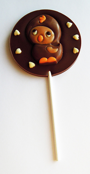 Chocolate lillipops 3D
